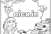 Nickalodeon Coloring Pages - In Nick Jnr Colouring Coloring Gallery