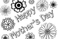 Mothers Day Coloring Pages Kids - Innovative Happy Mothers Day Coloring Pages for Kids Fabulous Page Collection