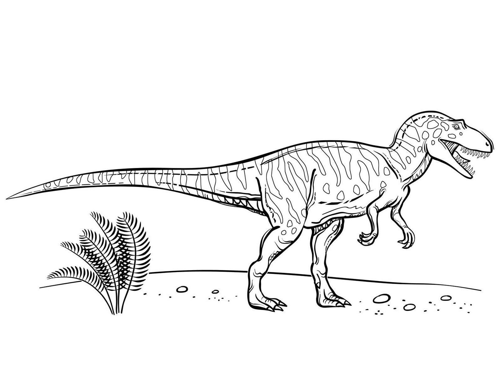 Dinosaurs Coloring Pages Collection