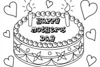 Mothers Day Coloring Pages Kids - Inspiring Coloring Pages for Mothers Day Colouring for Cure Mothers Printable