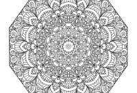 Mandala Coloring Pages to Print - Intricate Mandala Coloring Pages Printable Plex to Print