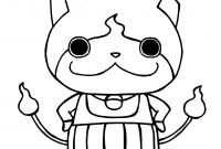 Yo Kai Watch Coloring Pages - Kai Watch Yo Kai Jibanyan with His Arms On His Hips Download