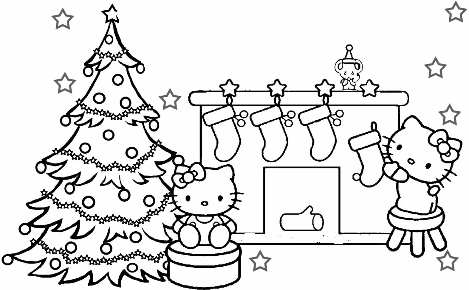 Kitty Christmas Printable Coloring Pages to Print Of Proven Coloring Pages to Print Hello Kitty 2895 Unknown Printable