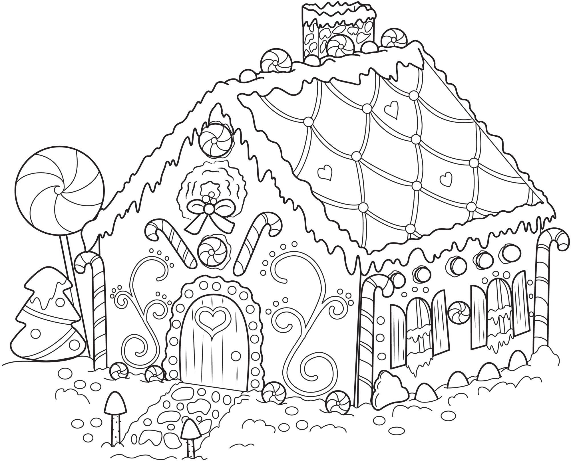 Printable Holiday Coloring Pages Download 1m - Free Download
