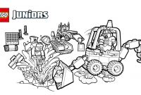 Lego Dimensions Coloring Pages - Lego Juniors Construction Site Smash Up Coloring Page Coloring Download