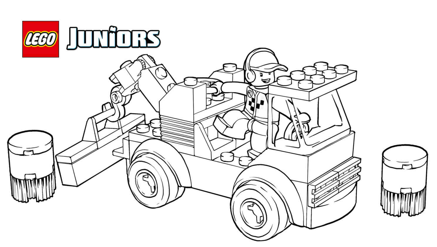 Lego Juniors Racetrack tow Truck Coloring Page Coloring Pages Collection Of Lego Dimensions Coloring Pages Collection Page Ninja Grig3 Printable