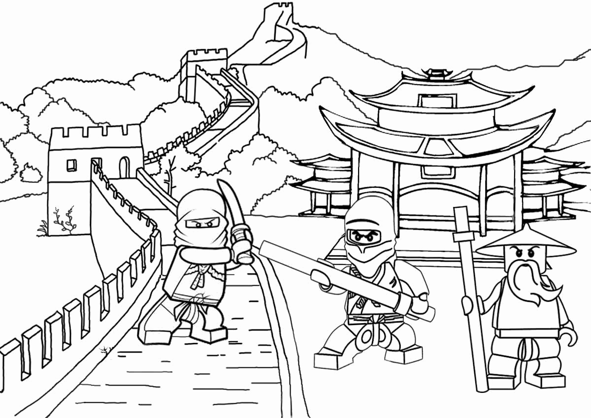 Lego Ninjago Movie Coloring Pages Fresh Lego Coloring Page Unique to Print Of Lego Dimensions Coloring Pages Collection Page Ninja Grig3 Printable