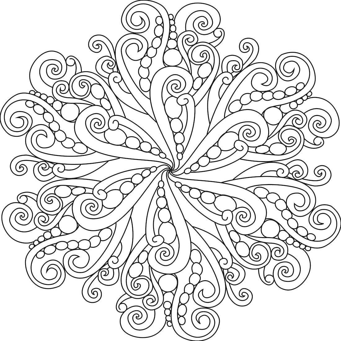 Mandala Coloring Pages for Girls Unique Printable Adult to Print Gallery Of Modern Intricate Mandala Coloring Pages Coloring for Good Mandala to Print