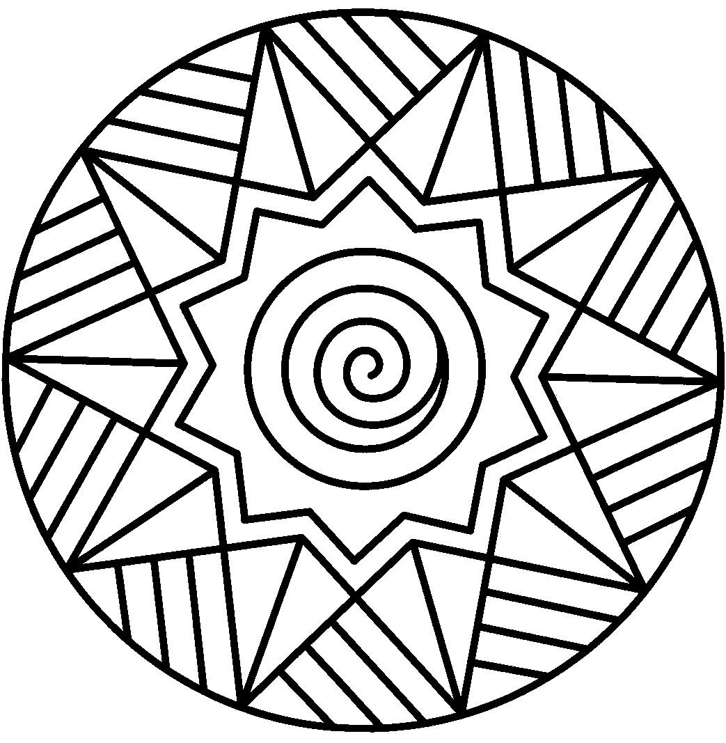 Mandala Coloring Pages to Print Gallery 17o - Save it to your computer