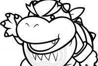 Mario Coloring Pages - Mario Bowser Coloring Pages Gallery