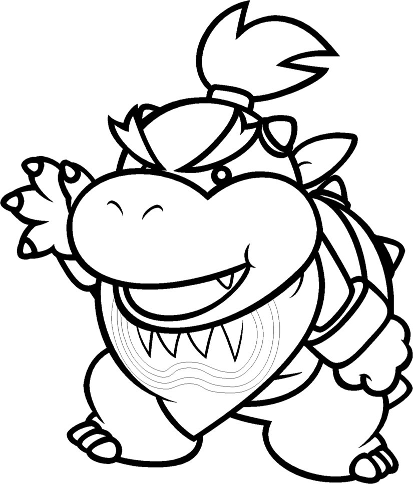 Mario Bowser Coloring Pages Gallery – Free Coloring Sheets
