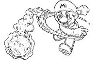 Mario Coloring Pages - Mario Coloring Page1 1211—926 Coloring Pinterest Printable