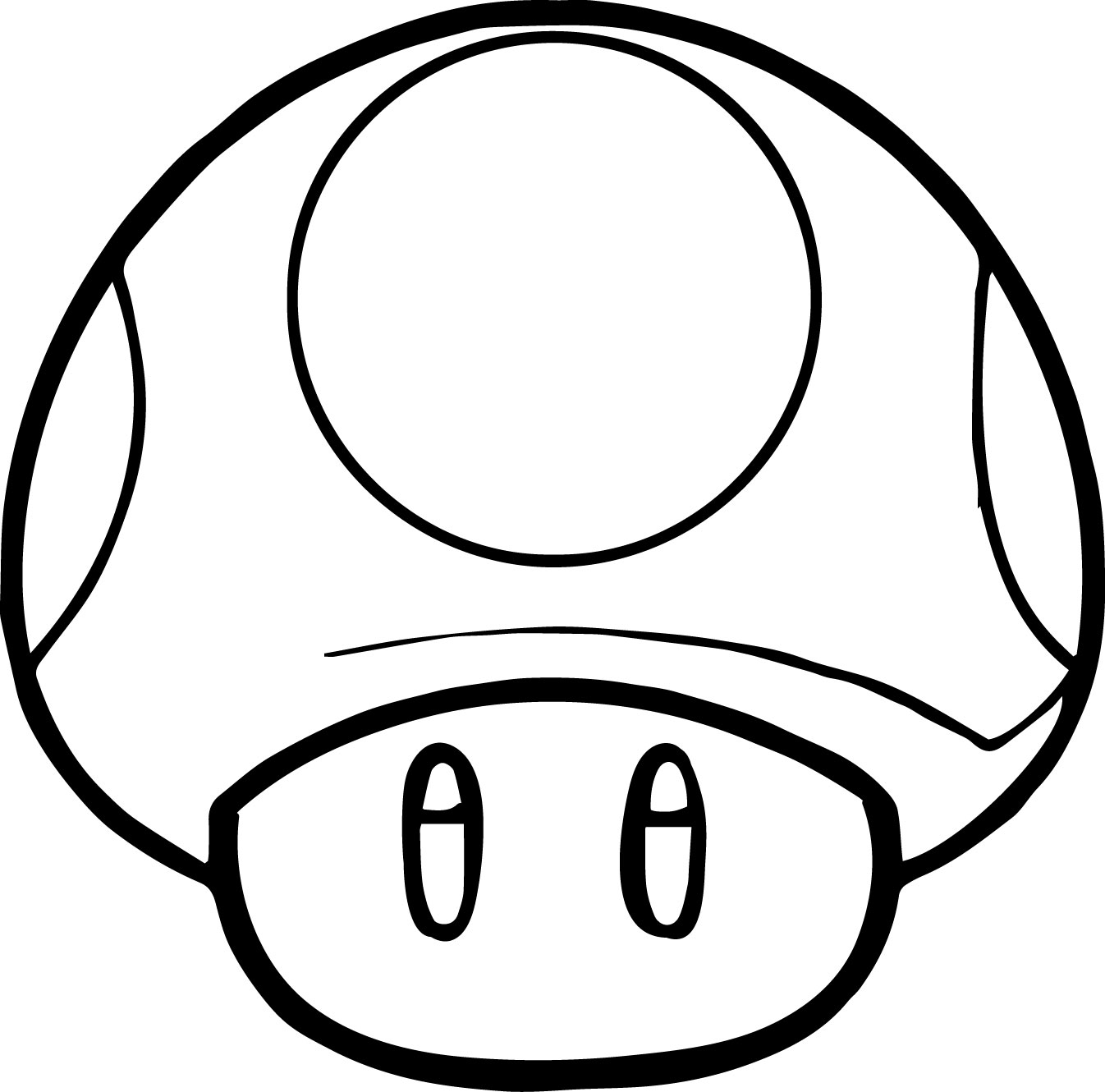 Mario Coloring Pages Mushroom Coloringstar Printable Of Super Mario Bros Coloring Pages to Print