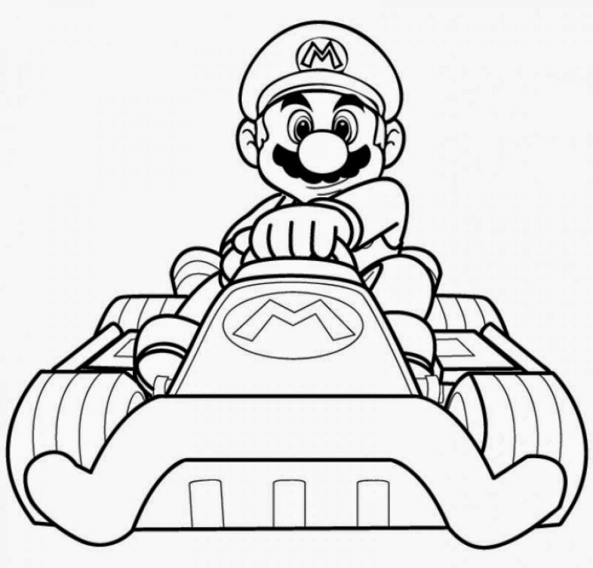 Mario Coloring Pages Printable Printable Of Super Mario Bros Coloring Pages to Print