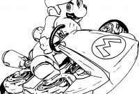 Mario Coloring Pages - Mario Kart 8 Coloring Pages with Mario Kart 8 Coloring Pages Super to Print
