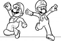 Mario Coloring Pages to Print - Mario Printable Pages Gallery