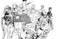 Printable Avengers Coloring Pages - Marvel Super Heroes 297 Superheroes – Printable Coloring Pages Download
