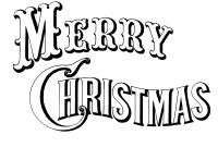 Christmas Coloring Pages Printable Free - Merry Christmas Coloring Pages Print to Print