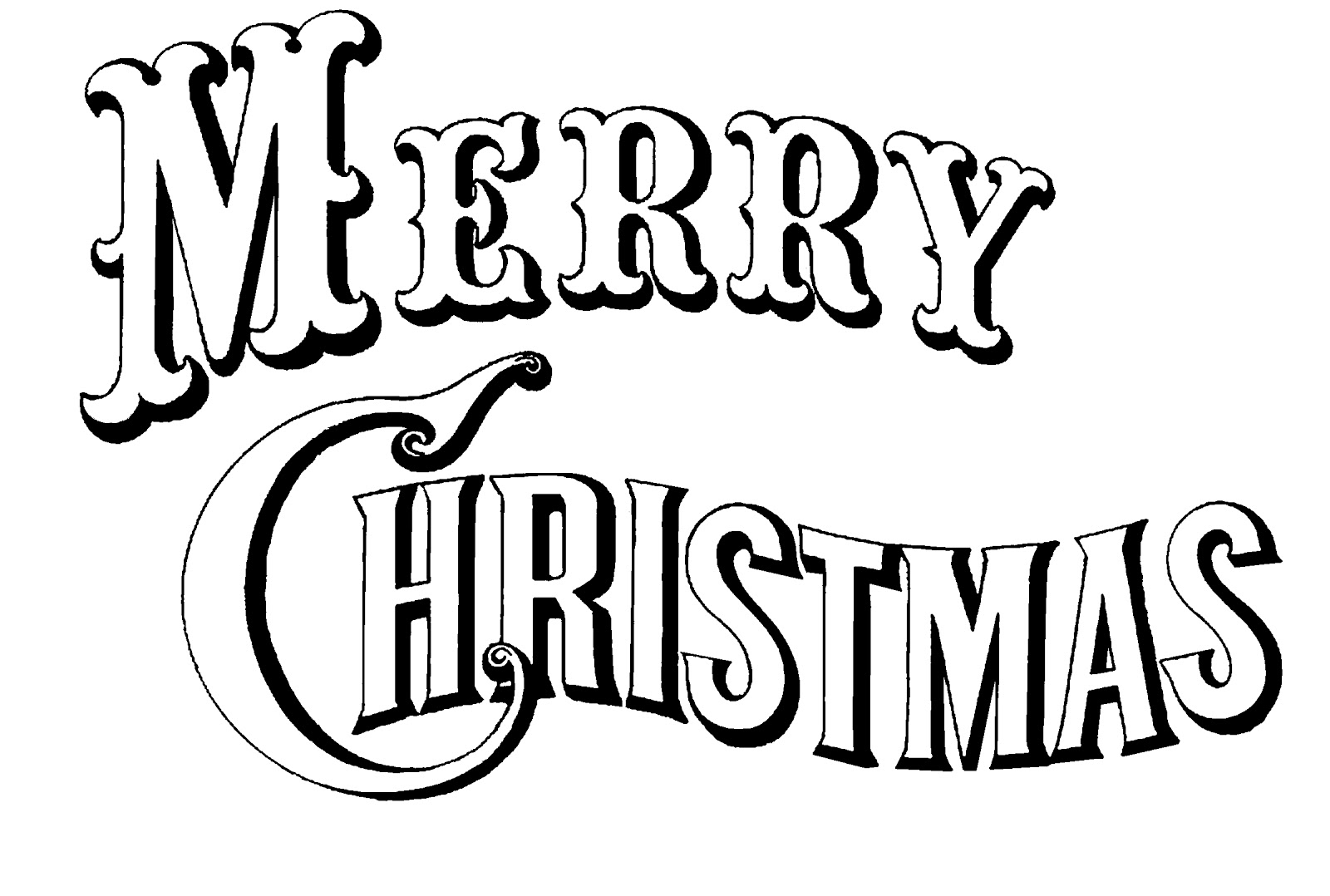 Christmas Coloring Book Clip Art - Awesome Graphic Library •