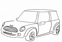 Mini Cooper Coloring Pages - Mini Cooper Coloring Pages 2018 Open Coloring Pages Printable