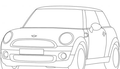 Mini Cooper Coloring Pages - Mini Cooper Coloring Pages Gallery Download
