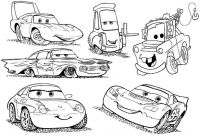 Cars the Movie Coloring Pages - Modest Cars Movie Coloring Pages to Print Printable In Funny Cars to Print