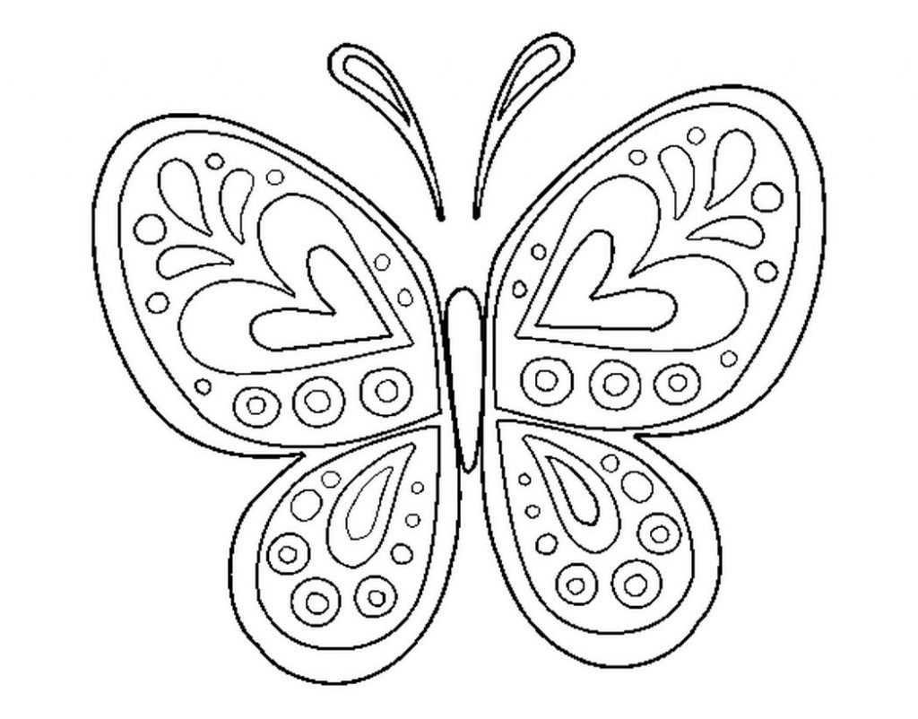 Monarch butterfly Coloring Page Luxury Cartoon butterflies Many Gallery Of Detailed Coloring Pages for Adults Collection