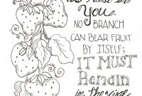 Free Scripture Coloring Pages - Most Effective Ways to Reduce Stress Printable