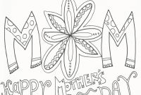 Mothers Day Coloring Pages Kids - Mother Day Coloring Pages for Mom and Grandma Yahoo Mothers Free Printable