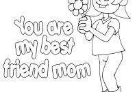 Mothers Day Coloring Pages Kids - Mother S Day Coloring Pages Printable