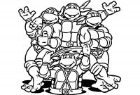 Teenage Ninja Turtle Coloring Pages - Mutant Ninja Turtle Coloring Page Collection