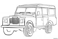 Land Rover Coloring Pages - New F Road Vehicle Coloring Pages Collection Download