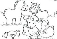 Animals Coloring Pages to Print - New Free Baby Animal Coloring Pages Collection Collection
