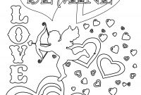 Valentines Printable Coloring Pages - New Happy Valentines Coloring Pages for Elementary Students Design Gallery