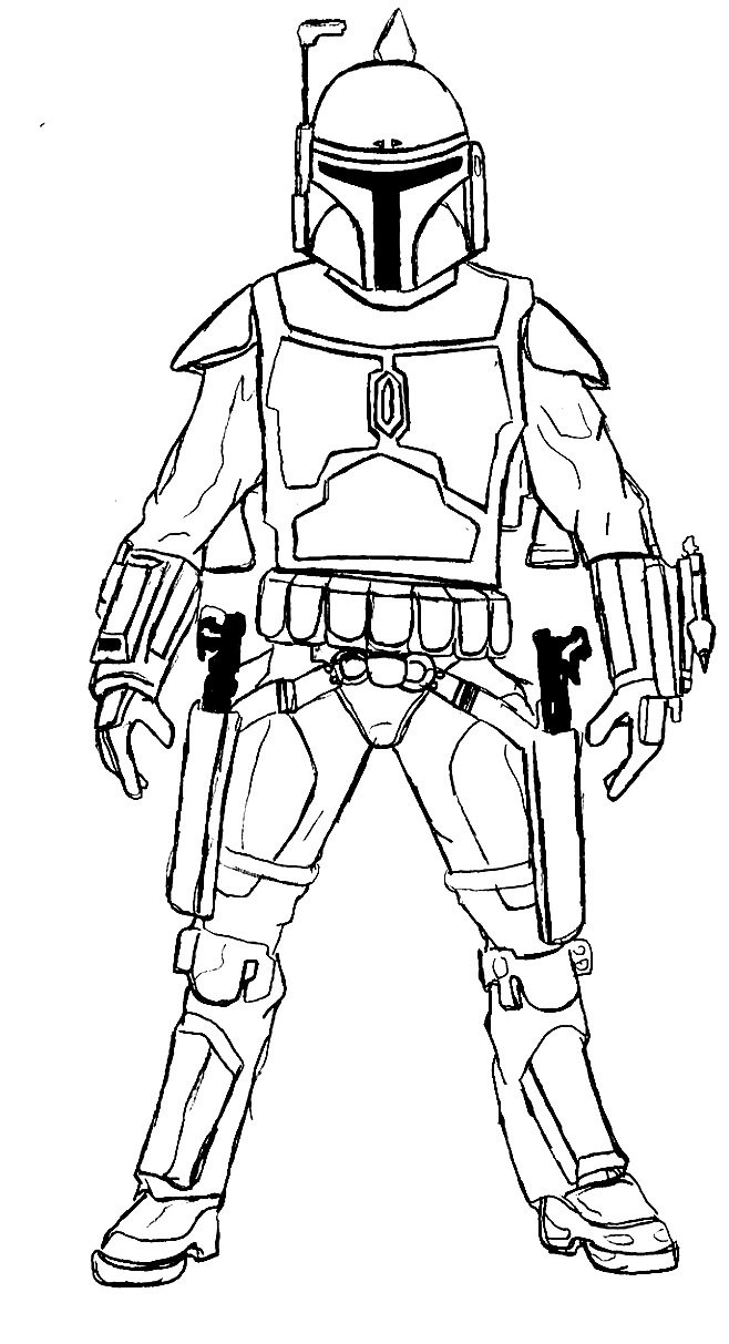 Star Wars Free Coloring Pages to Print 19d - Free For Children