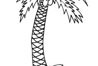Tree Coloring Pages - Nice Palm Tree Coloring Page Free Pages Coconuts Fresh 3129 Gallery