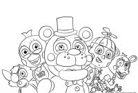 Fnaf Printable Coloring Pages - Nightmare Fredbear Coloring Pages Best Genuine Fnaf Printable Download
