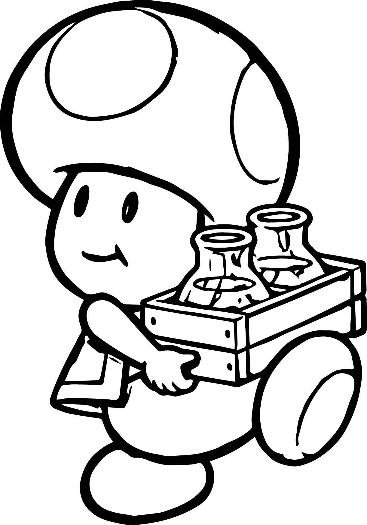 Nintendo Mario Mushroom Character Coloring Page Pages Download Of Toad Mario Drawing at Getdrawings Gallery