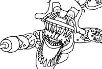 Fnaf Printable Coloring Pages - Noted Five Nights at Freddy S Coloring Pages Foxy Appealing Fnaf Download
