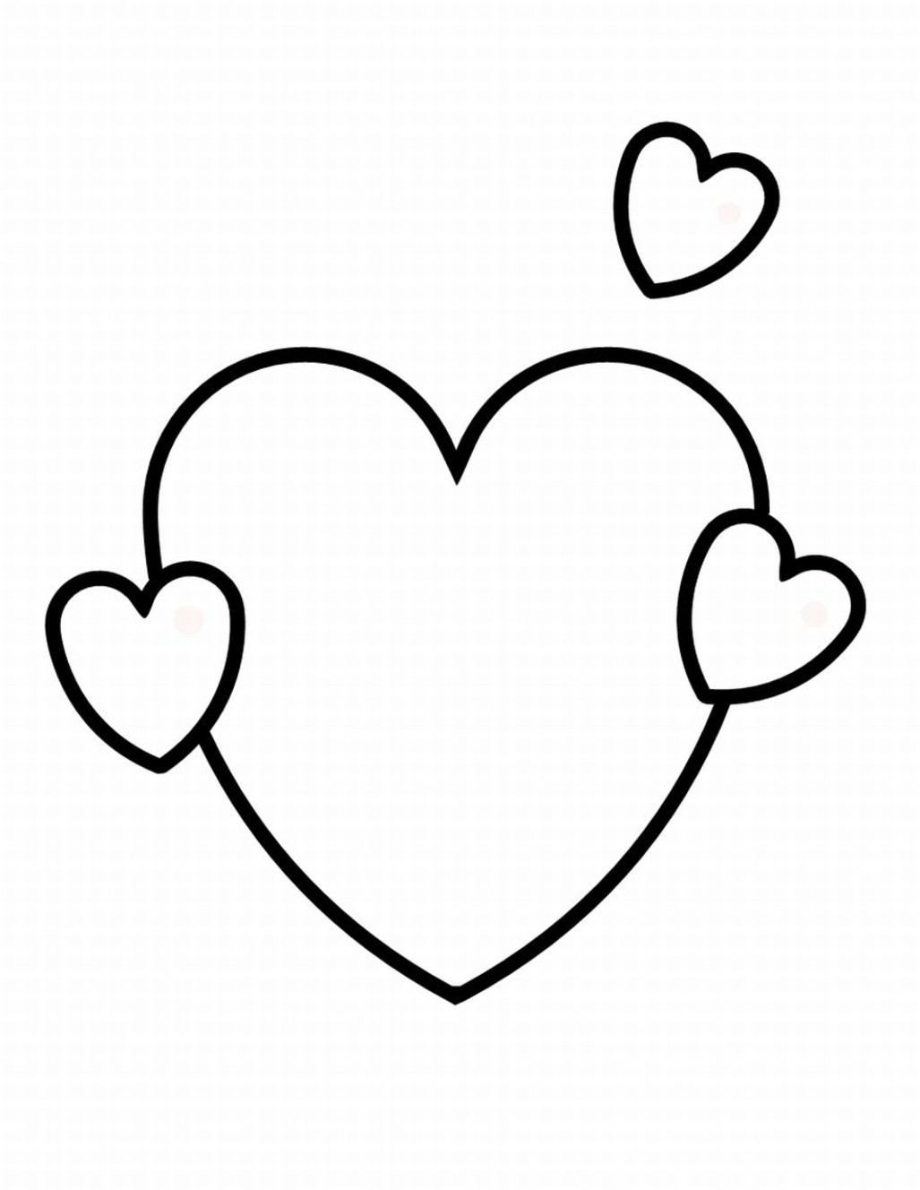 Now Valentine Hearts to Color Unique Heart Sheet Free Printable Collection Of Valentine Day Printable Coloring Pages Free Coloring Library Download