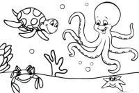 Sea World Coloring Pages - Ocean World Octopus 3 Coloring Pages Animal Book Ivanvalencia Gallery