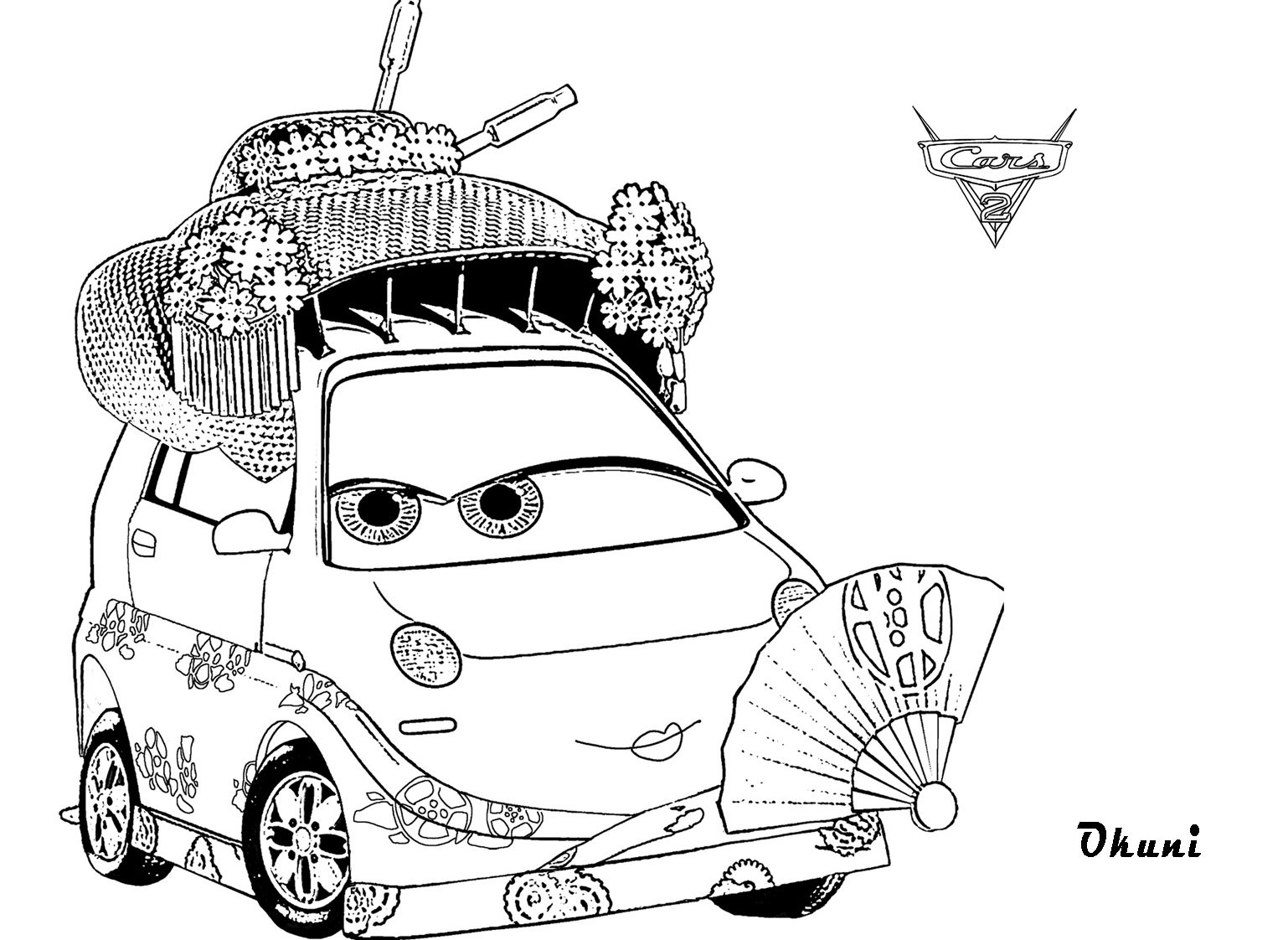 Okuni Coloring Pages for Kids Cars 2 to Print Of Cars 2 Coloring Pages with Cars 2 Coloring Pages with Cars 2 Gallery