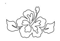 Coloring Pages Hawaiian Flowers - Part 153 Printable Coloring Page for Kid Coloring Page Super Hero to Print