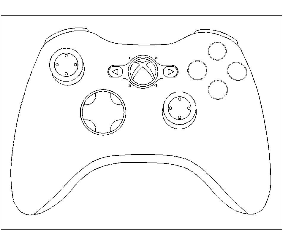 Xbox Coloring Pages to Print 5l - Free For Children