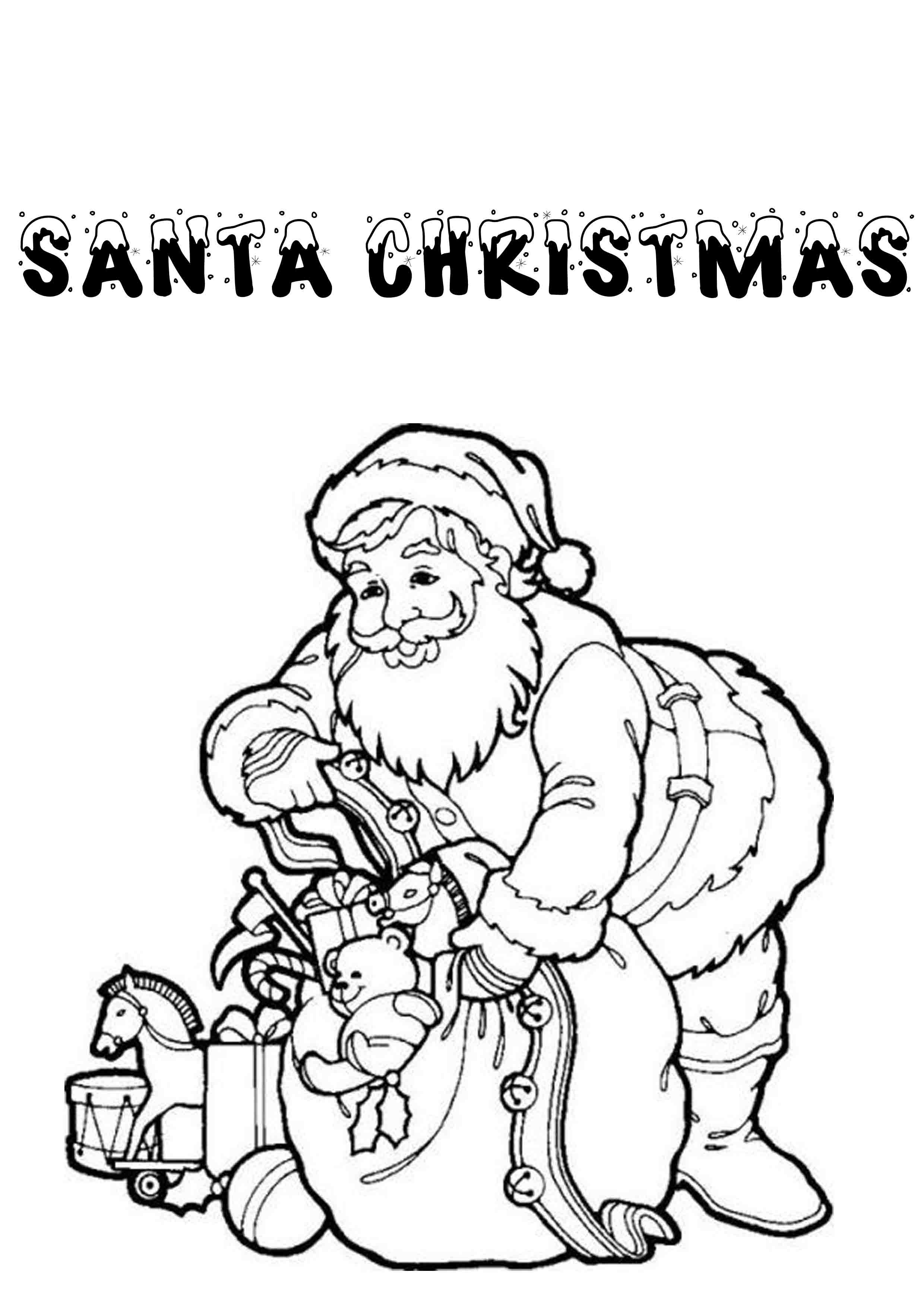 Print & Download Printable Christmas Coloring Pages for Kids to ...