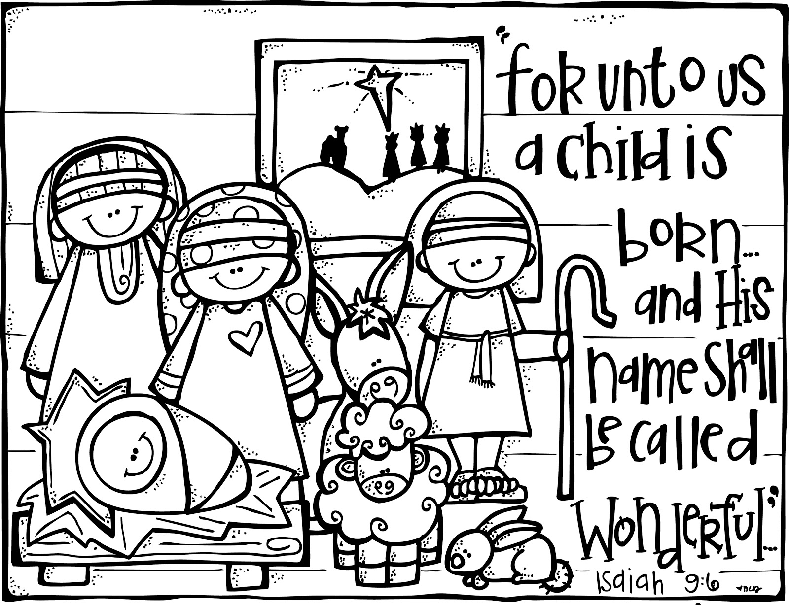 Free Printable Merry Christmas Coloring Pages Collection – Free ...