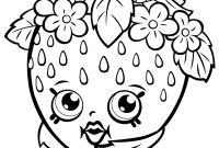 Print Shopkins Coloring Pages - Print Fruit Apple Blossom Shopkins Season 1 Coloring Pages to Print