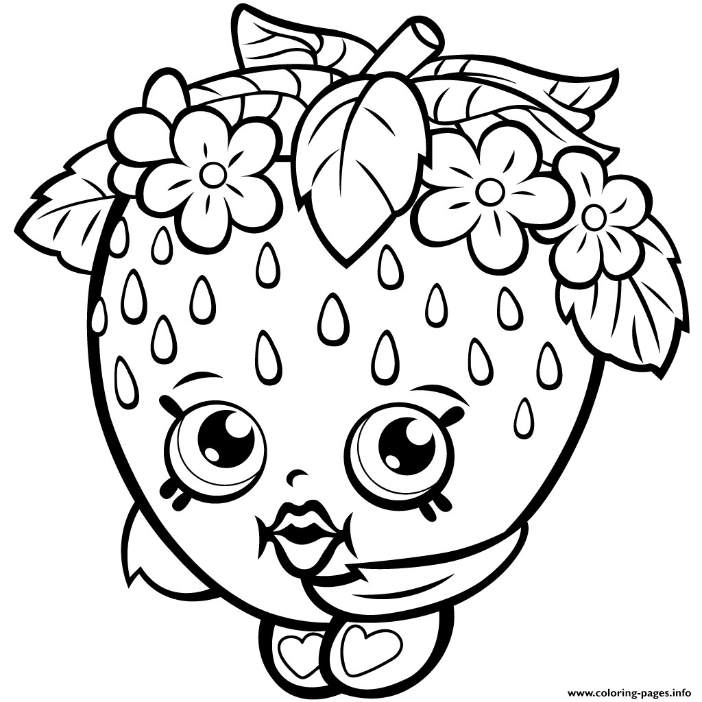 Print Shopkins Coloring Pages Printable Free Coloring Sheets