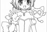 Printable Anime Coloring Pages - Printable Anime Coloring Pages Gallery