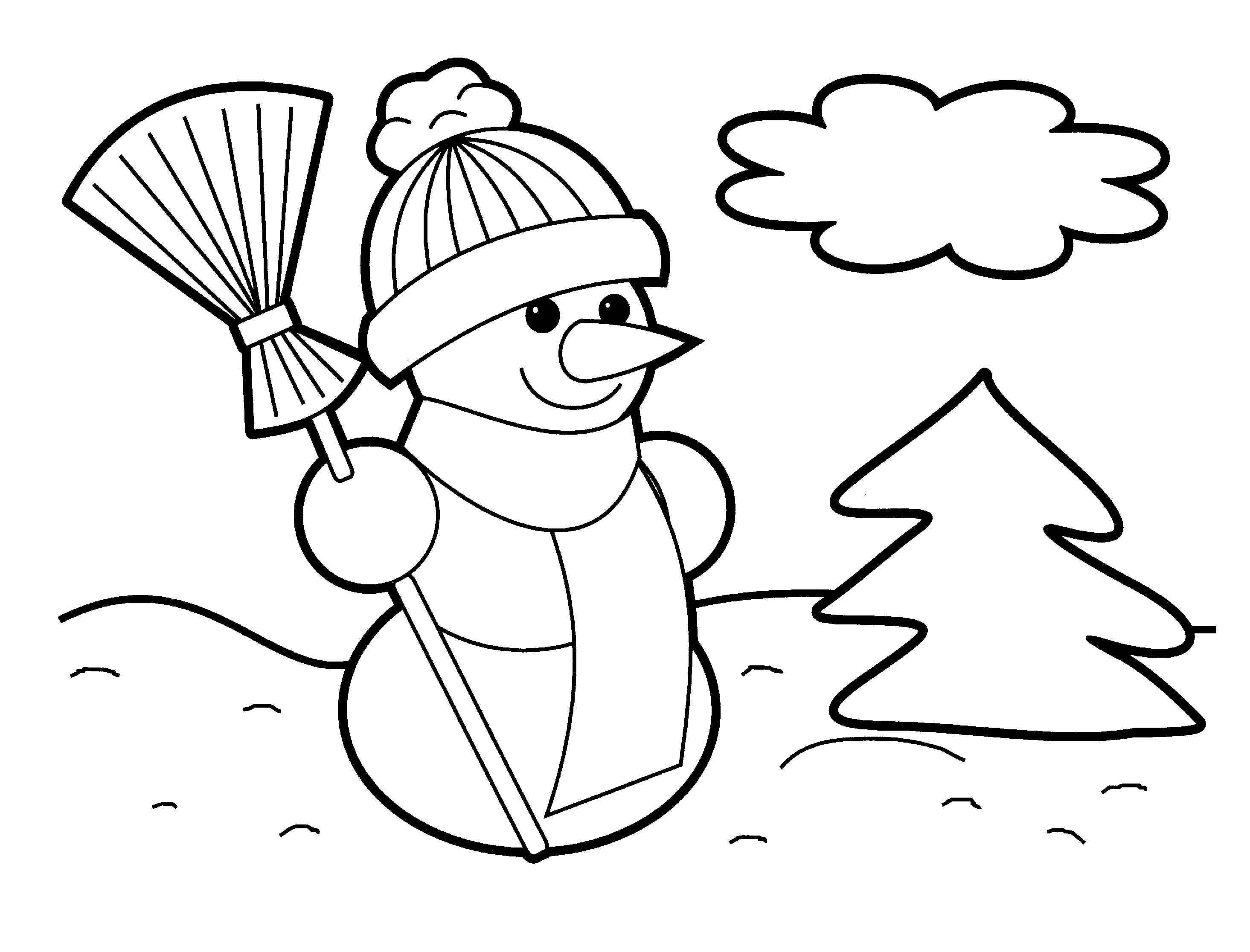 Printable Christmas Coloring Sheets for Kids – Halloween & Holidays ...